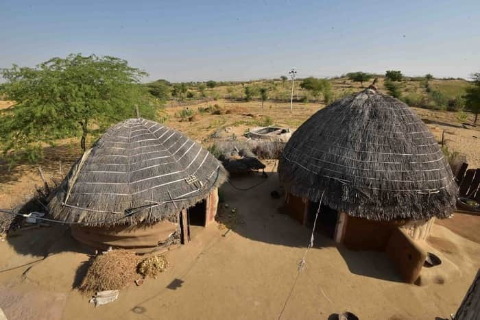 Африканская хижина